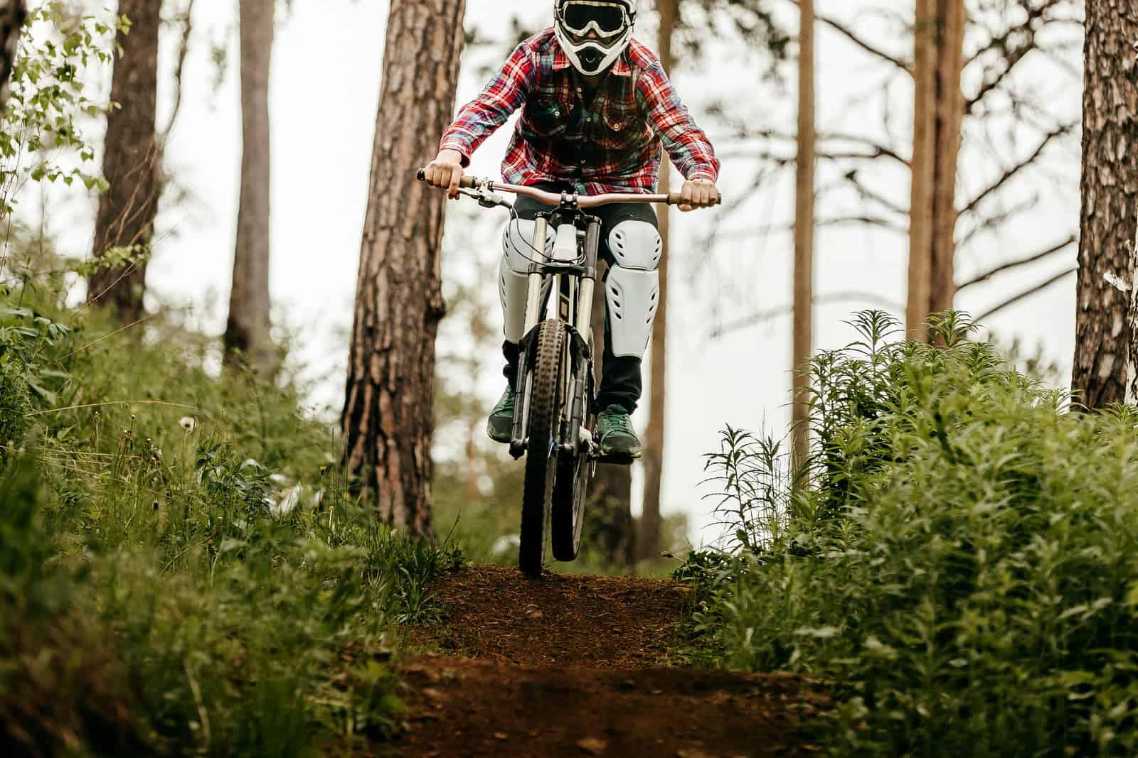 the invention of mountain biking in muddy terrain
