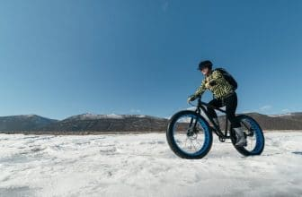 fat tire bikes in snow