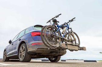 bike hitch rack to handle your bicycles at the back of the car