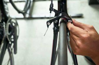 installing bike brake pads