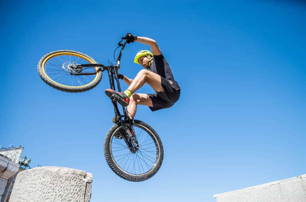 bike for wheelies and other stunts