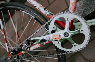 clean your bike chain with household products