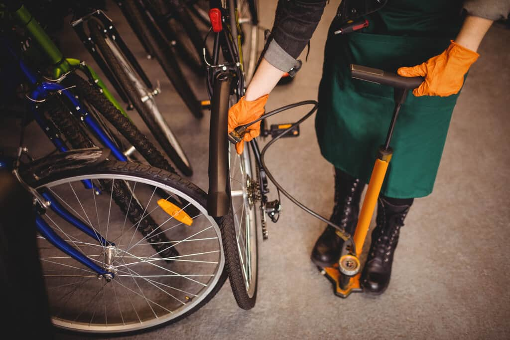 bicycle floor pumps