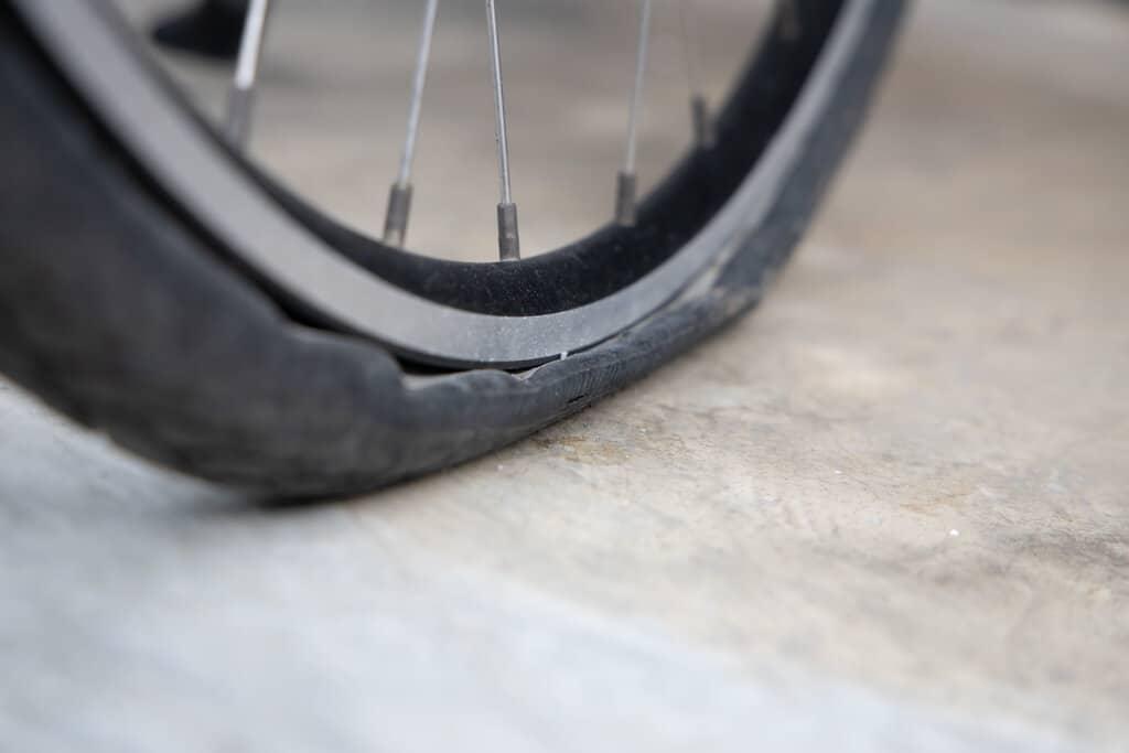 deflate bike tire easily