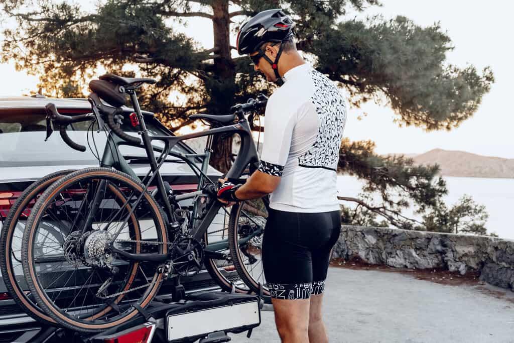 bike rack for carbon fiber bike