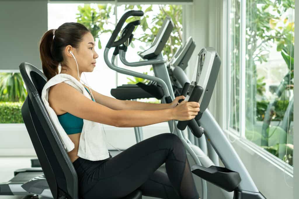 recumbent bike good workout