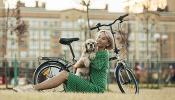 How to Bike with Your Dog Safely