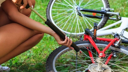 How to Use a Bike Pump the Right Way